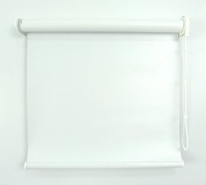 Cortina Rolô Pinpoint Blackout Crisdan 2,10 Largura X 2,20 Altura Branco