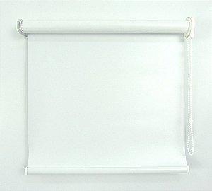 Cortina Rolô Pinpoint Blackout Crisdan 1,50 Largura X 1,50 Altura Branco