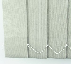 Persiana Vertical Em Tecido Crisdan Largura 2,20 X 1,60 Altura Cinza