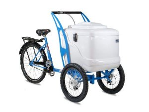 Food Bike Triciclo para Sorvete