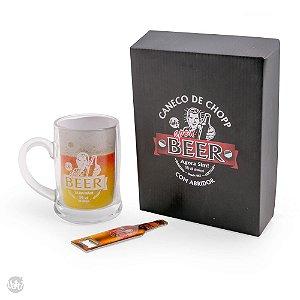 Caneca de chopp Beer com abridor