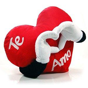 Almofada Mão Coração