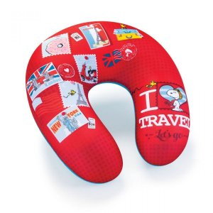 Almofada massageadora Snoopy I love travel c72a286a3d095