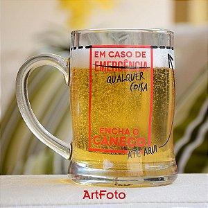 Caneco de cerveja Emergência