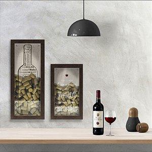 Porta rolha Com o passar dos vinhos