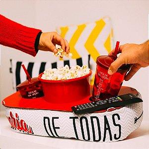 Almofada de Pipoca Cinema Melhor parceria