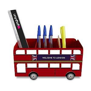 Porta Lápis Londres - ônibus