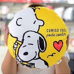 Almofada Snoopy amizade
