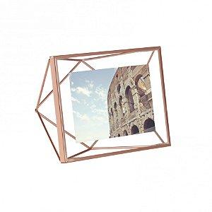 Porta retrato Prisma 10x15cm Cobre Umbra