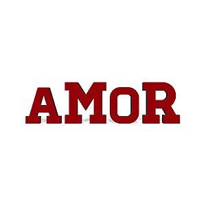 SUPORTE DE ACO LETRAS DECORATIVAS - AMOR