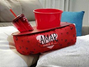 ALMOFADA PIPOCA - CORACAO AMAR