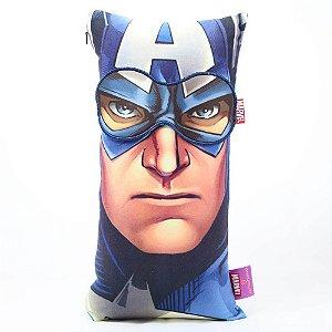 Kit Almofada + máscara do Capitão América
