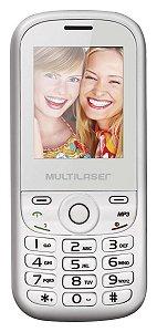 Celular Multilaser Up Dual Chip, C/ Camera, MP3, Radio FM e