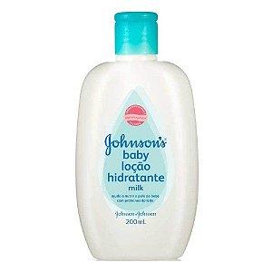 Loção Hidratante Johnson`s Baby Milk 200ml