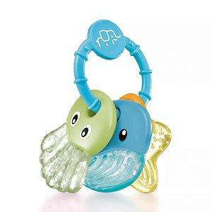 Mordedor Sea Friends Azul Baby Multikids - BB154