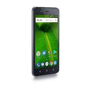 """Smartphone Multilaser MS50L 4G Quad Core 1GB RAM Tela 5"""" Dua"""