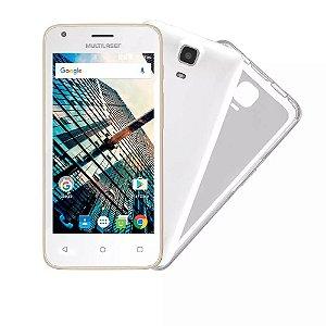 """Smartphone Multilaser MS45S Dourado Tela 4.5"""" Câmera 3 MP +"""