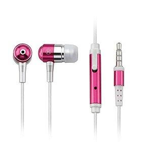 Multilaser Fone de Ouvido Intra-Auricular com Microfone Rosa