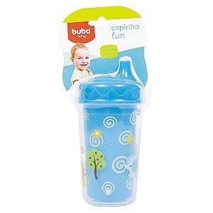 Copinho Fun 250ml - Azul - Buba Toys