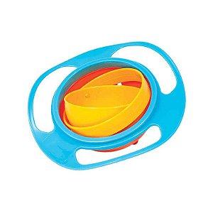 Prato Giro Bowl Azul Buba