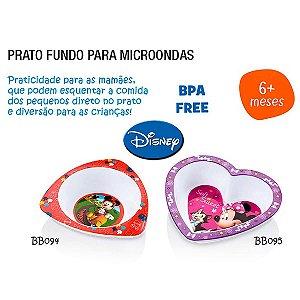 Prato Mickey - Para Microondas  - Multikids - BB094