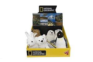 Pelúcia Polari - National Geographic - SORTIMENTO (1pç) -