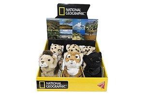 Pelúcia Big Cats - National Geographic - Sortimento (1pç)