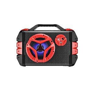 Caixa De Som Multiuso Bluetooth/ Microfone Com Alca Multilas