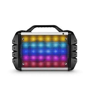 Caixa de Som 6 em 1 Portátil 100W RMS Bluetooth com Microfo