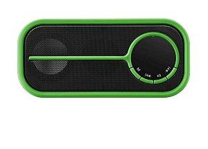 Caixa de som Bluetooth color verde - Pulse - SP207