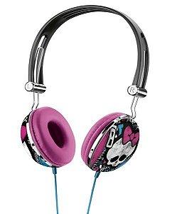 Fone De Ouvido Headphone Monster High Estampa - Multikids -