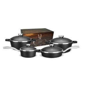 Conjunto de Panelas Alumínio MTA 4 Peças Proteus Gourmet c