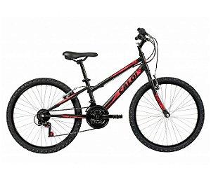 "Bicicleta Max Aro 24"" Preta Caloi - 007923.19003"