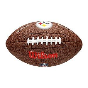 Bola Futebol Americano NFL Pittsburgh Steelers Wilson - WTF1