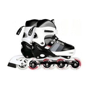 Patins Roller Semi-Pro Cinza M (34-37) Row Mor - 40600141