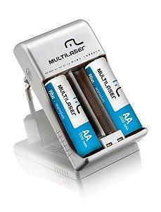 Multilaser Carregador de Pilhas AA/AAA 2x RM01 - CB048