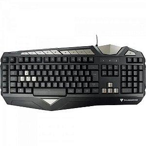 Teclado Gamer USB TK25 Preto THUNDERX3