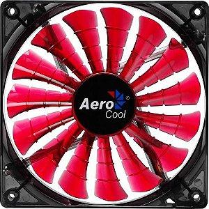 Cooler Fan 14cm SHARK DEVIL RED EDITION LED EN55475 Vermelho
