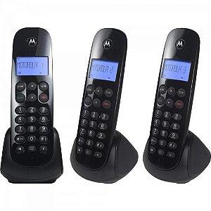 Telefone s/ Fio Digital MRD3 MOTO700 Preto MOTOROLA