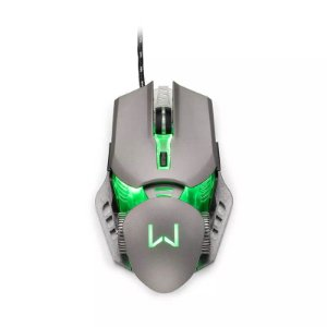 Mouse Gamer 3200 DPI Grafite Warrior - MO268