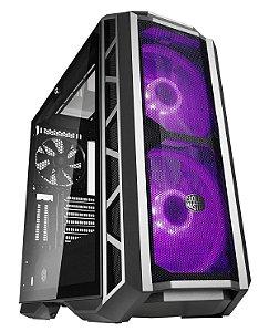 GABINETE  MASTERCASE H500P MESH - RGB - VIDRO - MCM-H500P-MG