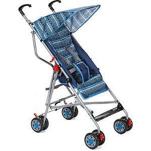 Carrinho de Bebê Umbrella Slim Azul Voyage