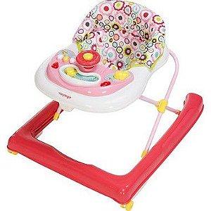 Andador para bebê Buggy Rosa Voyage