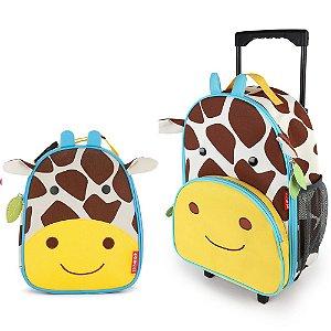 Kit Mala de Rodinha e Lancheira Zoo Girafa - Skip Hop