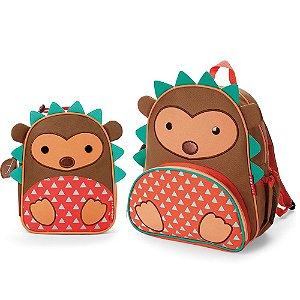 Mochila e Lancheira Infantil Escolar Zoo Porco Espinho - Skip Hop