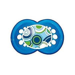 Chupeta Mam Circles Azul Bolinhas (6m+) Mam Baby