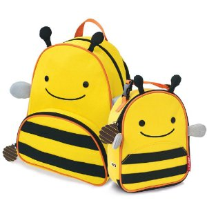Mochila e Lancheira Infantil Escolar Zoo Abelha - Skip Hop