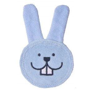 Luva Cuidado Oral Care Rabbit Azul Mam Baby