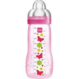 Mamadeira Fashion Bottle Borboleta 330ml Mam Baby