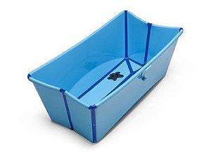 Banheira Dobrável Flexi Bath Azul Stokke